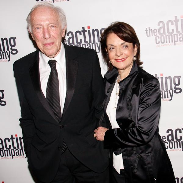 Bernard Gersten and Cora Cahan at The Acting Company, Grammer, Lansbury et al. Honor Gersten, Viola