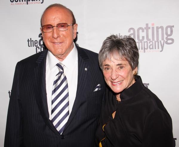 Clive Davis and Margo Lion