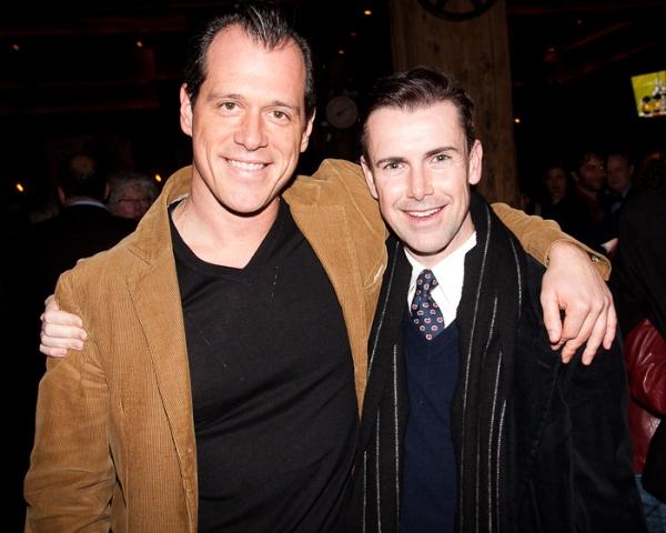 Darren Pettie and Matt McGrath