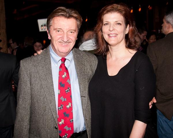 Larry Bryggman and Karen Kohlhaas
