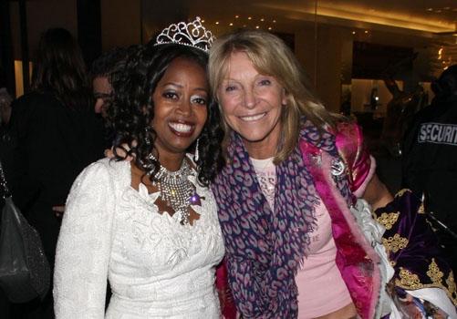 Jennifer Leigh Warren and Bonnie Lythgoe at The Americana at Brand Photo