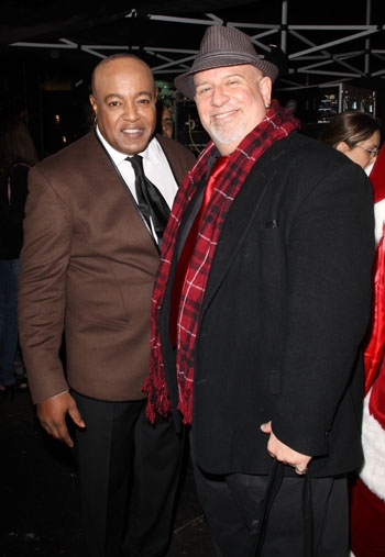 Peabo Bryson and Gerald Sternbach at The Americana at Brand Photo