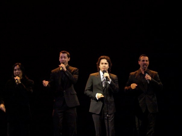 John Lloyd Young, Ray Garcia, Daniel Guzman, and Nathan Shrake