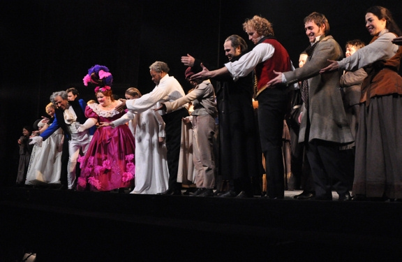 Photo Coverage: LES MIS Opens at Paper Mill!