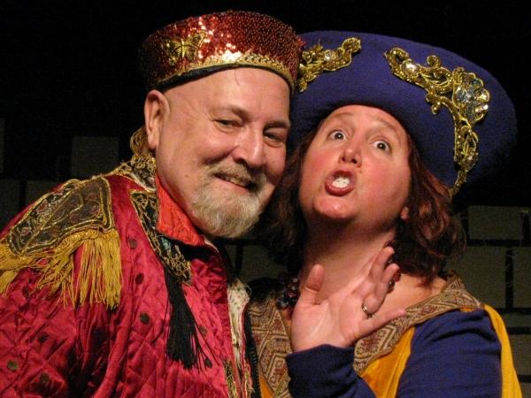 Marco Newton and Pam Jorgensen