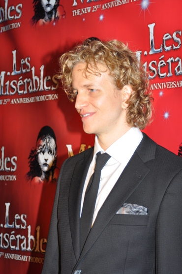 Jeremy Hays at LES MIS Opening Night After Party