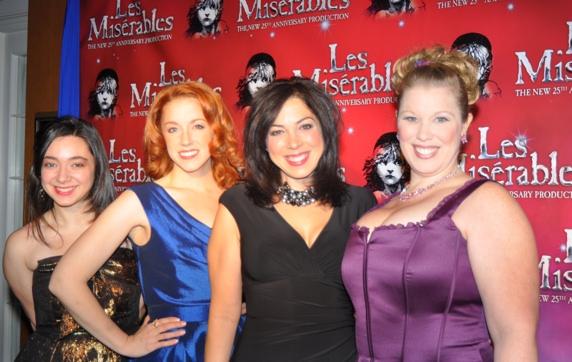 Julie Benko, Casey Erin Clark, Lucia Giannetta and  Heather Jane Rolff