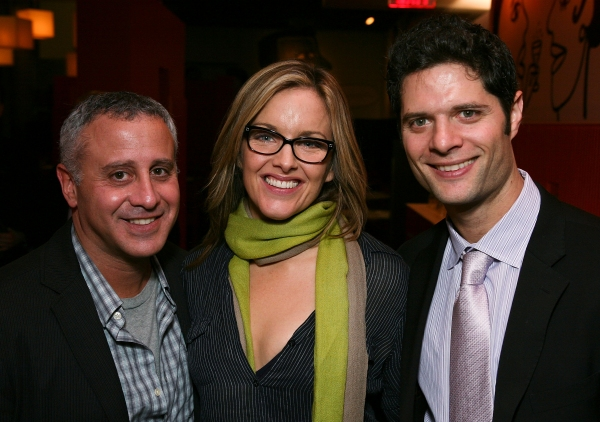 Producer David Stone, cast member Alice Ripley and Composer Tom Kitt at NEXT TO NORMAL Opens in Los Angeles!
