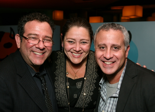 Michael Greif, actress Camryn Manheim and Producer David Stone