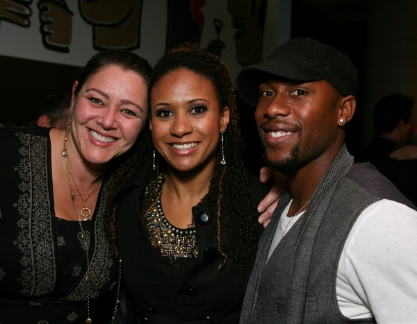Camryn Manheim, Tracie Thoms and J. Lee  at NEXT TO NORMAL Opens in Los Angeles!