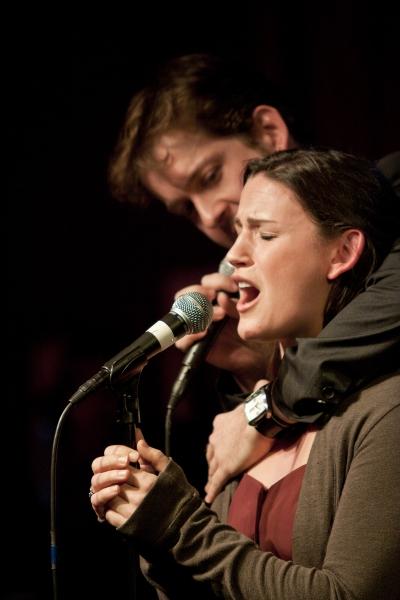 Andrew Kober and Carrie Manolakos