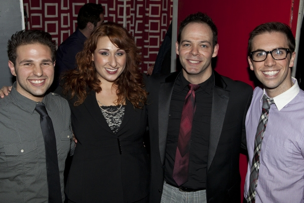 David Gordan, Jenn Furman, Bobby Cronin and Geoffrey Kidwell