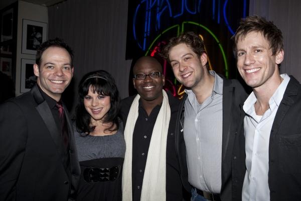 Bobby Cronin, Katrina Rose Dideriksen, Titus Burgess, Andrew Kober and Andrew Samonsky