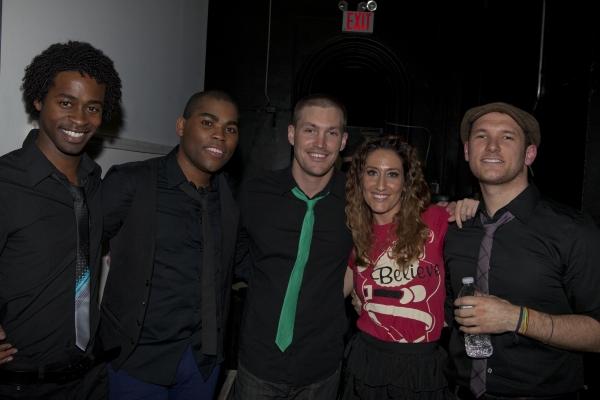 Steven Cutts, Sean Bradford, Landon Beard, Kelly King and Drew Gasparini