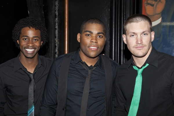 Steven Cutts, Sean Bradford and Landon Beard