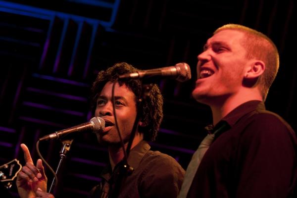 Steven Cutts and Landon Beard
