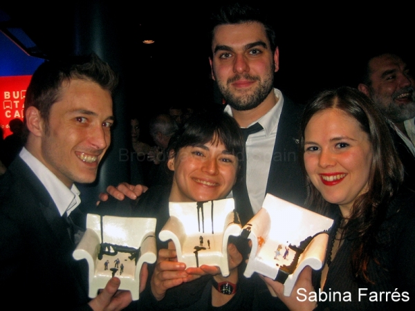 Ferran Gonzalez, Alicia Serrat, Joan Miquel Perez y Gemma Martinez Photo