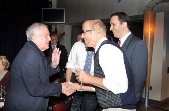 John Kander, Larry Cook and Dan Whitman Photo