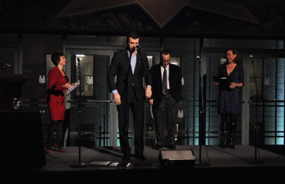 Cheryl Stern, Bradley Dean, Adam Heller and Karen Ziemba at Stars Honor Douglas J. Cohen with Fred Ebb Foundation Award