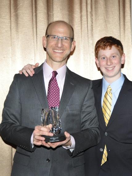 Douglas J. Cohen and his son Jeremy Cohen Photo