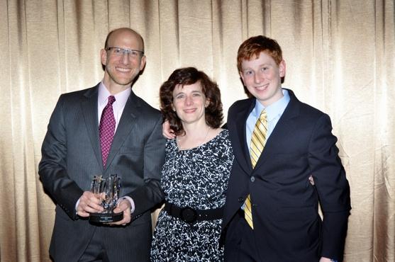 Douglas J. Cohen, Kathy Kiliper and Jeremy Cohen Photo