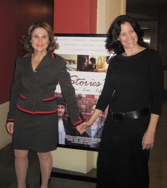 Tovah Feldshuh and Ally Sheedy  at Sheedy, Feldshuh Introduce TEN STORIES TALL