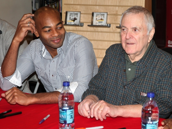 Photo Coverage: John Kander & THE SCOTTSBORO BOYS visit Borders