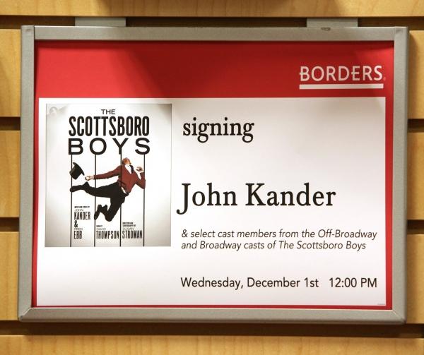Photo Coverage: John Kander & THE SCOTTSBORO BOYS visit Borders