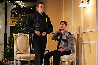 Photo Flash: Redtwist Announces the opening of Lobby Hero 12/2