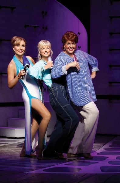 Judy McLane, Lisa Brescia and Gina Ferrall
