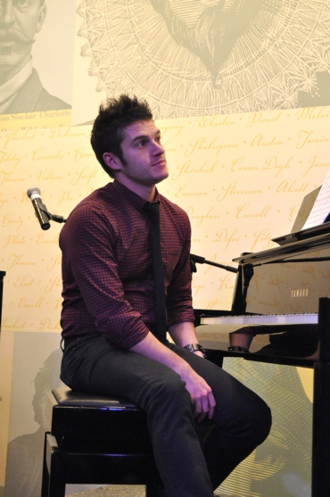 Jesse Vargas at The Songs of Scott Alan at Barnes & Noble
