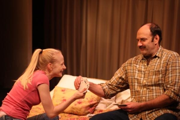 Erin Wilhelmi (Lissie) & Dan Sharkey (Jim) at Opening Night of The Girl from Nashville