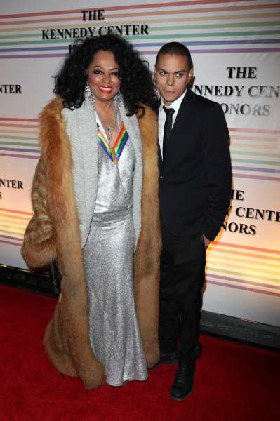 Diana Ross & Evan Ross  Photo