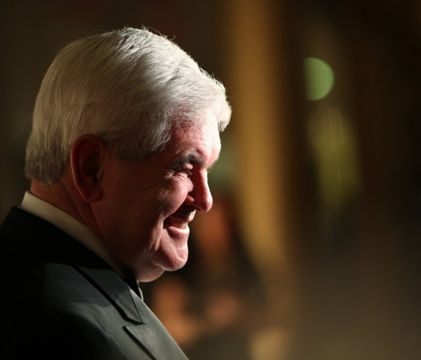 Newt Gingrich  at 2010 Kennedy Center Honors Red Carpet Part 2