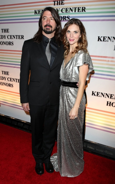 Dave Grohl & Jordyn Grohl  at 2010 Kennedy Center Honors Red Carpet Part 2