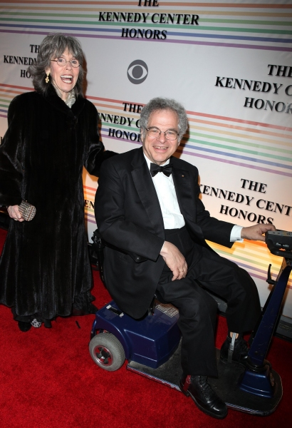 Toby & Itzhak Perlman at 2010 Kennedy Center Honors Red Carpet Part 2