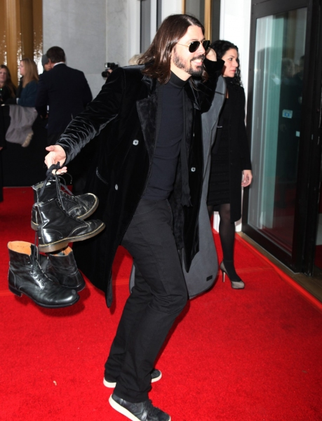 Dave Grohl at Photo EXCLUSIVE: Rehearsal Arrivals for the 2010 Kennedy Center Honors