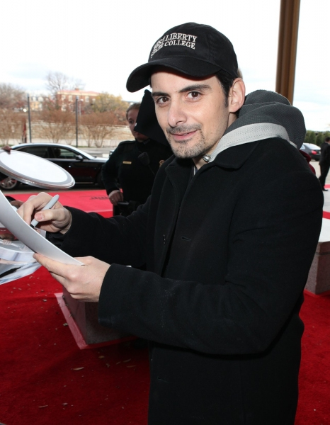 Brad Paisley at Photo EXCLUSIVE: Rehearsal Arrivals for the 2010 Kennedy Center Honors