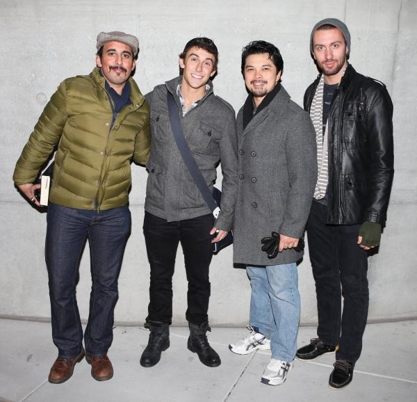 Nehal Joshi, Cody Williams, Vincent Rodriguez III, Andrew Hodge