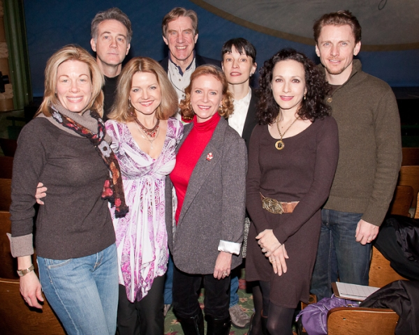 Judges Marin Mazzie, Boyd Gaines, Alison Fraser, Nick Wyman, Eve Plumb, Patricia White, Bebe Neuwirth, and Jason Danieley