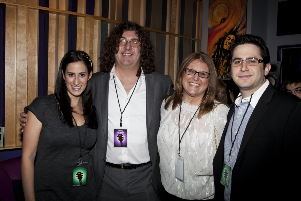 Jennifer Hallie Rosen (Diamond), Doug Maxwell, Liz Caplan and Rob Diamond