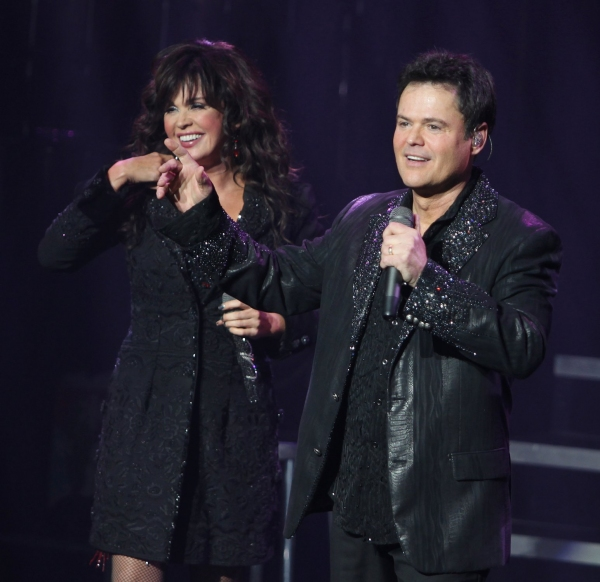Photo Coverage: DONNY & MARIE Open on Broadway