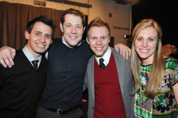 Benj Pasek, John Bolton, Justin Paul and Asher Paul