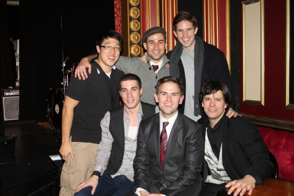 Daniel Reichard with Ben Gettinger, Joey Dudding, Frank DiLella, Raymond J. Lee and Eric Svejcar