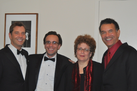 Steven Reineke, Ted Furth, Judith Clurman and Brian Stokes Mitchell