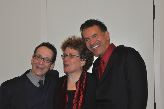 Larry Hochman, Judith Clurman and Brian Stokes Mitchell at NY Pops and Brian Stokes Mitchell at Carnegie Hall