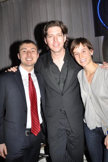 Andrew Mancilla, James Barbour and Carla Sanderson