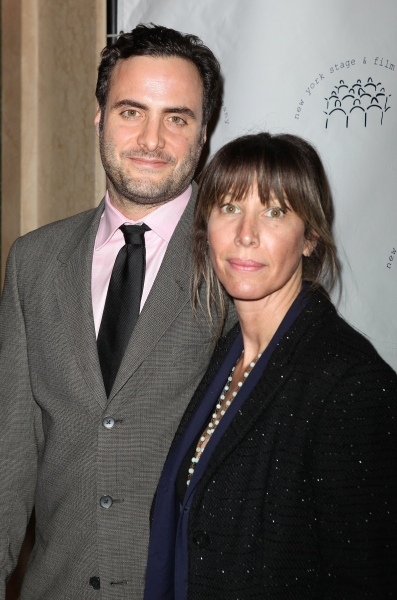 Dominic Fumusa and wife actress Ilana Levine