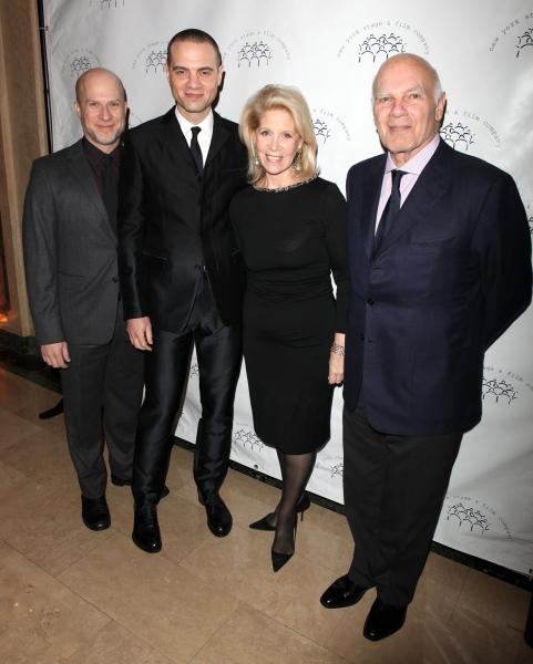 Richie Jackson, Jordan Roth, Mom Daryl Roth & Dad Steven Roth
