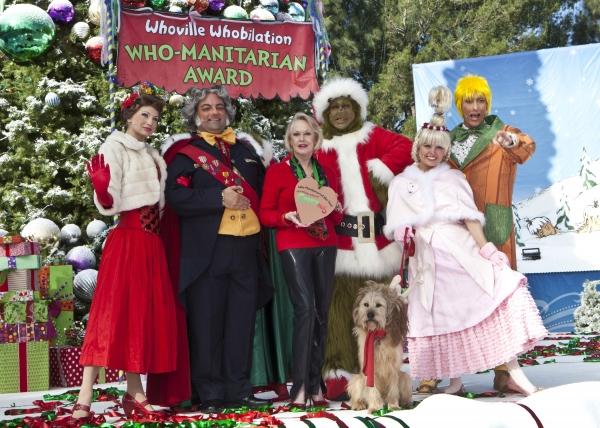 Photo Flash: Whomanitarian Award Presented to Tippi Hedren